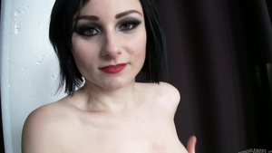 Rough sex with tattooed brunette Veruca James in the bed in HD