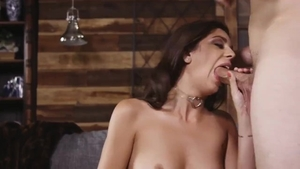 Sucking dick along with super hot british brunette