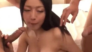 Very small tits asian MILF gets a buzz out of sex in HD
