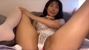 Fun with toys escorted by asian girl