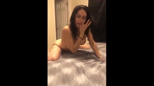 Nailed rough in company with brunette