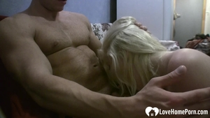 Tight & wet amateur raw sucking cock