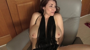 Solo big boobs mature masturbation