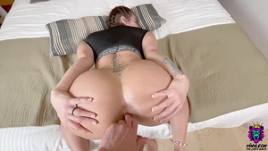 Latina gets ass licked
