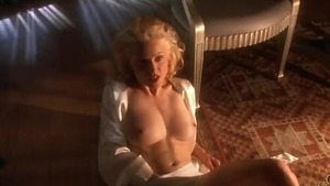 Naked celebrity goes wild on cock