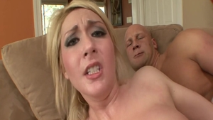 Anal fucked sex scene escorted by big booty hard Missy Woods