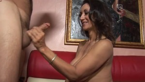 Persian Persia Monir cumshot on the couch HD