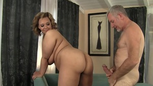 Very juicy blonde butt pounded
