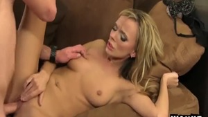 Squirt together with gorgeous caucasian stepmom Pristine Edge