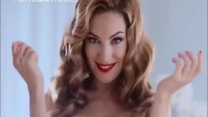 Very sexy celebrity Kelly Brook helps with sloppy fucking