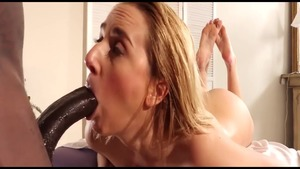 Busty Katie Morgan pussy eating in hotel