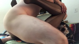 Muscle big tits amateur creampied in HD