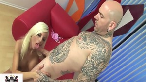 Big tits Britney Amber pussy eating